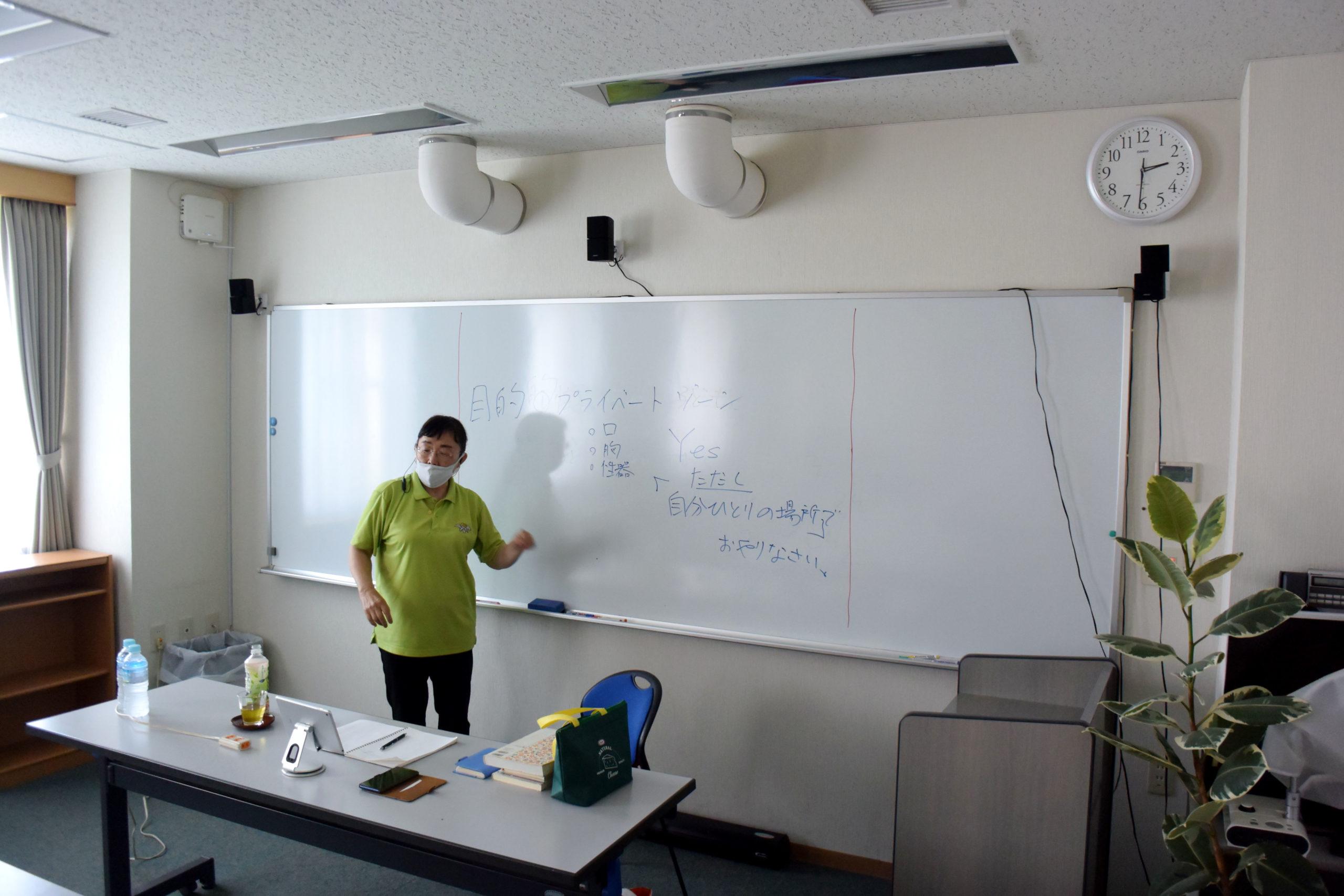 あそぶっく講座「メグさんのからだの科学」